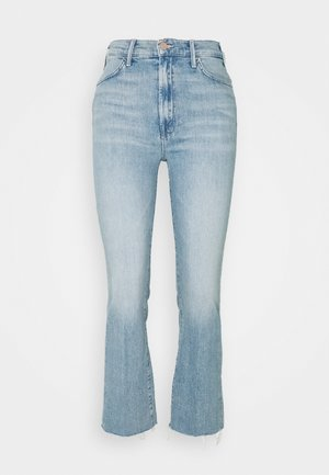 THE HUSTLER ANKLE FRAY - Flared jeans - sworn to secrecy