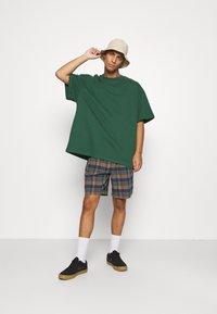 BDG Urban Outfitters - CHECK DRAWSTRING - Shorts - khaki - 1