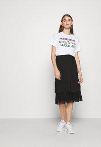 Even&Odd - A-line skirt - black - 1