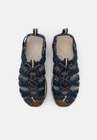 Keen - WHISPER - Walking sandals - navy/birch - 3
