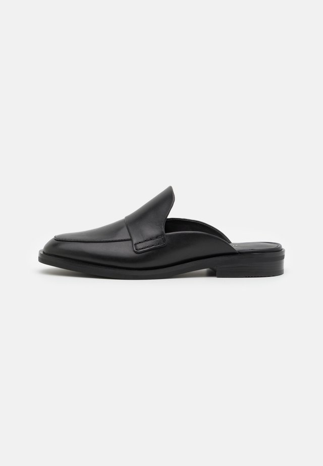 ALEXA LOAFER MULE - Ciabattine - black