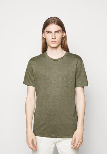 COMA - Jednoduché triko - lake green