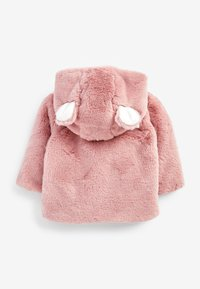 Next - HOODED EARS COSY BUTTON-UP  - Fleece jacket - pink - 1