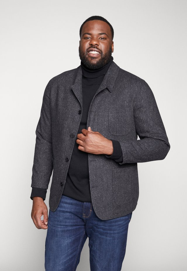 BIRSTALL BLAZER PLUS - Blazer jacket - charcoal