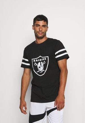 NFL LAS VEGAS RAIDERS INSPIRED TEE - Club wear - black
