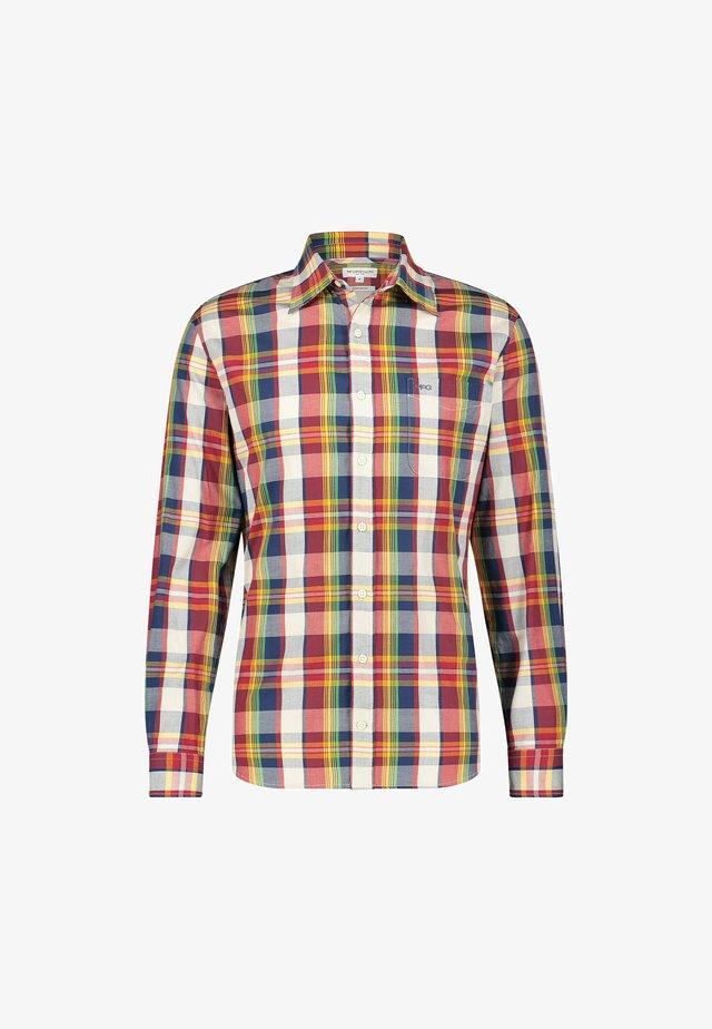 VINTAGE MADRAS - Overhemd - bright navy