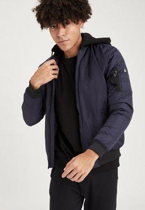 SLIM FIT  - Light jacket - navy