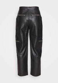 The Ragged Priest - PANTS HEAVY ZIPS - Kalhoty - black - 1