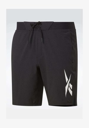 TEXTURED EPIC SHORTS - Pantalón corto de deporte - black