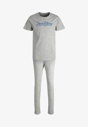 SET - Pyjamas - light grey melange