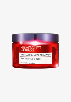 REVITALIFT LASER X3 PADS - Face scrub - -