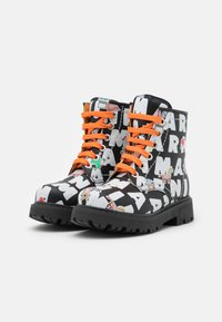 Marni - Lace-up ankle boots - black/multicolor - 1