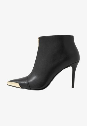 ZIP STILETTO  - High heeled ankle boots - nero