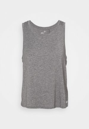 BREATHE WRAP BACK TANK - Top - heather grey