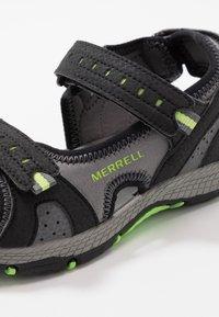 Merrell - PANTHER SANDAL 2.0 - Chodecké sandály - black - 2