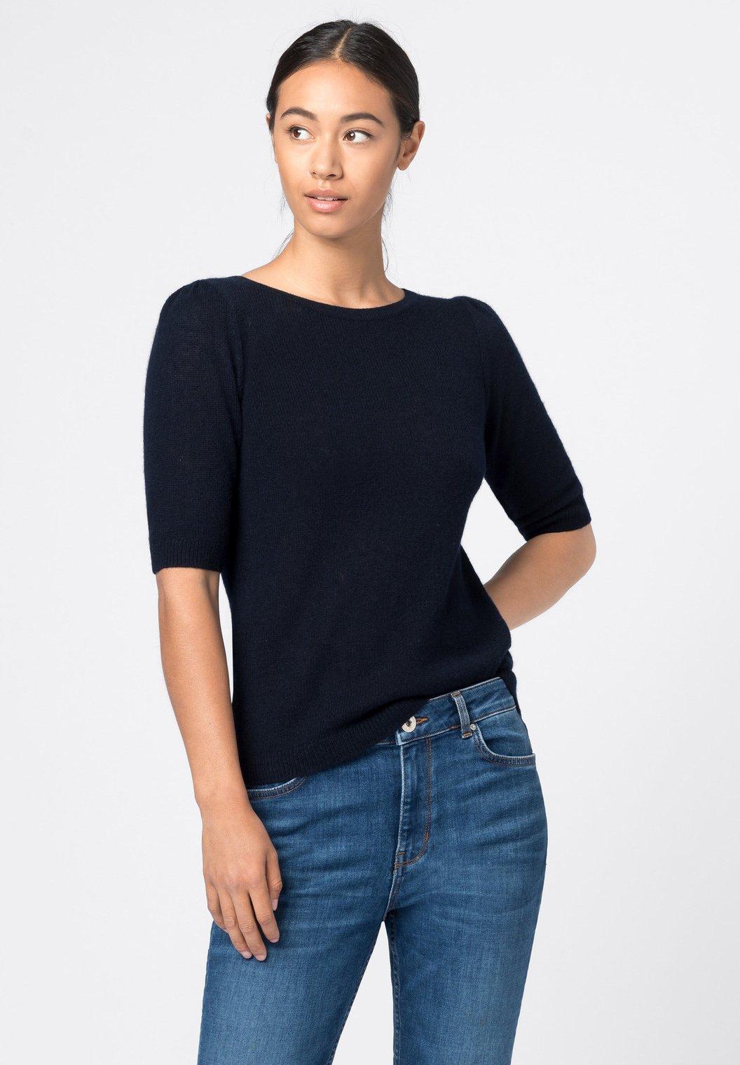 HALLHUBER Sweater - dunkelblau - Dames jas Nieuw