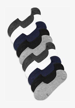 10 PACK - Trainer socks - multi-coloured