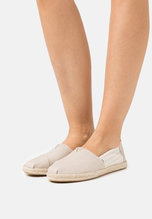 ALPARGATA ROPE VEGAN - Espadrilky - oxford tan