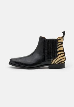 BELLA  - Ankle boots - palermo/black/white/rich tan
