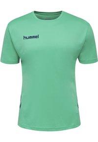 Hummel - DUO SET - Sports shorts - atlantis/marine - 1