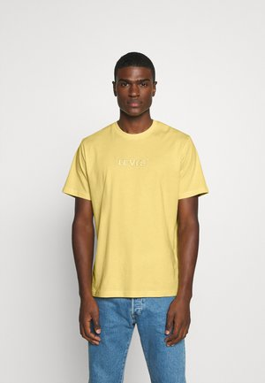 RELAXED FIT TEE UNISEX - Print T-shirt - yellows