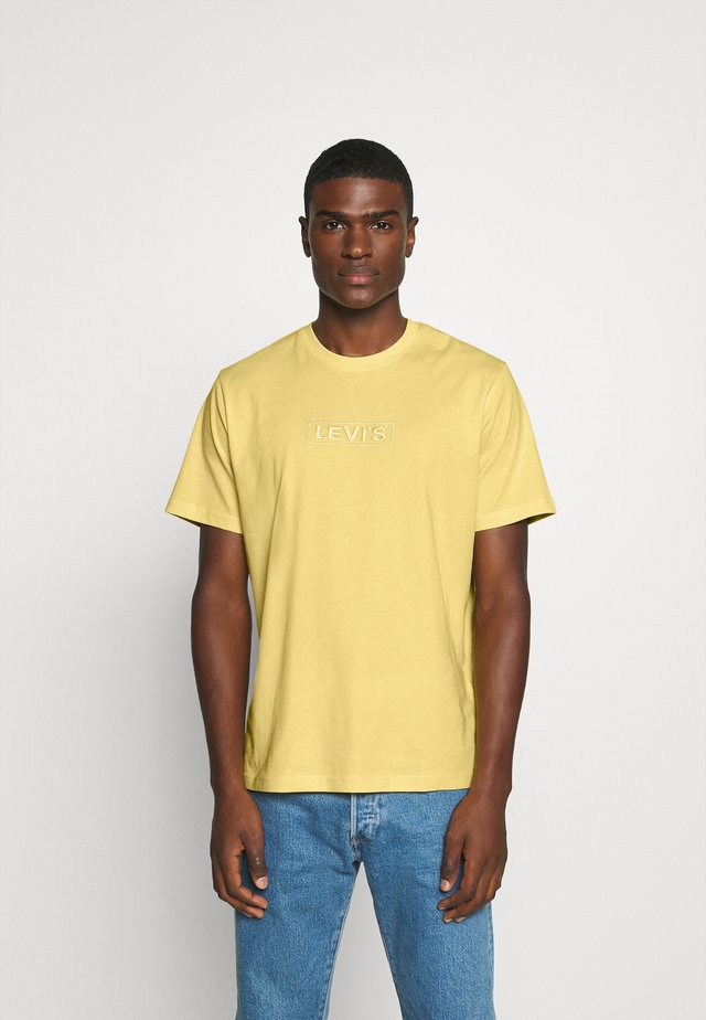 RELAXED FIT TEE UNISEX - T-shirt con stampa - yellows