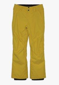 Quiksilver - ESTATE YOUTH - Zimní kalhoty - sulphur - 0