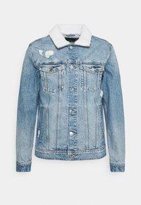 JJIJEAN JJJACKET  - Denim jacket - blue