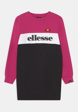 MARIGOL - Day dress - pink/black