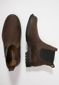 Timberland - EARTHKEEPERS STORMBUCKS - Classic ankle boots - dark brown - 1