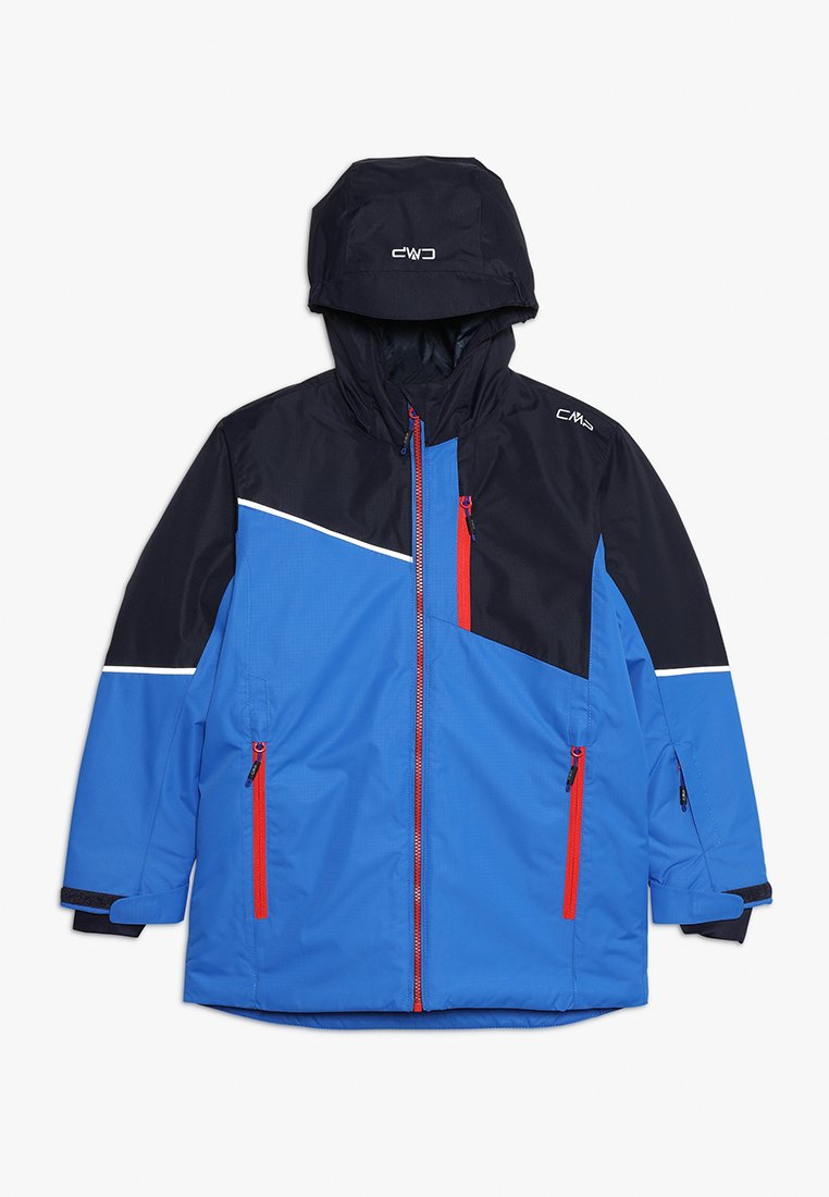 CMP - BOY JACKET FIX HOOD - Ski jacket - royal