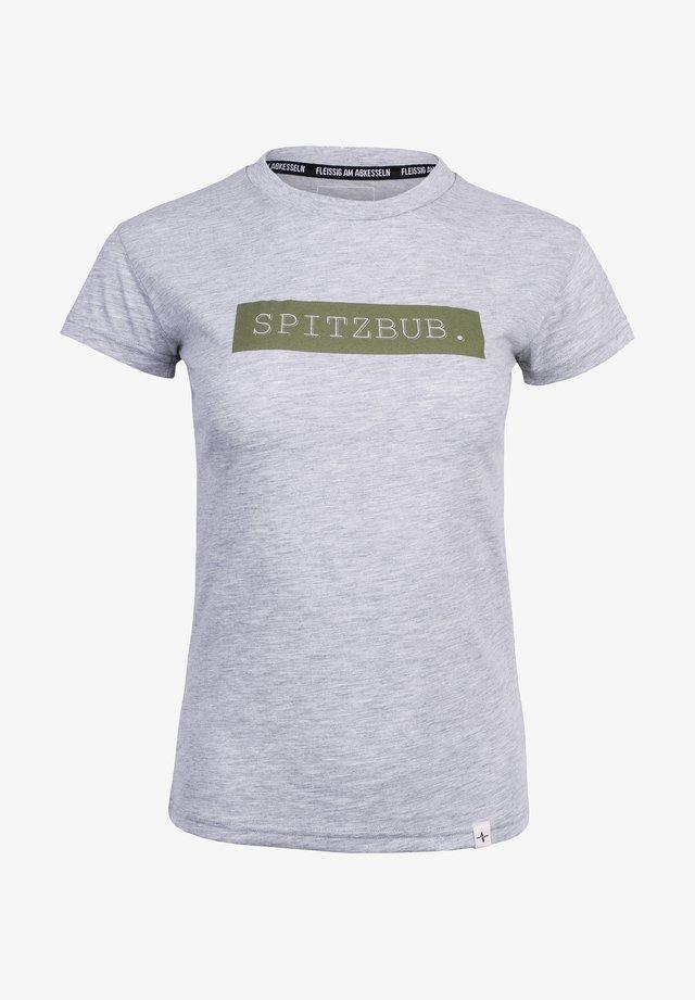 SISSI - Print T-shirt - grey