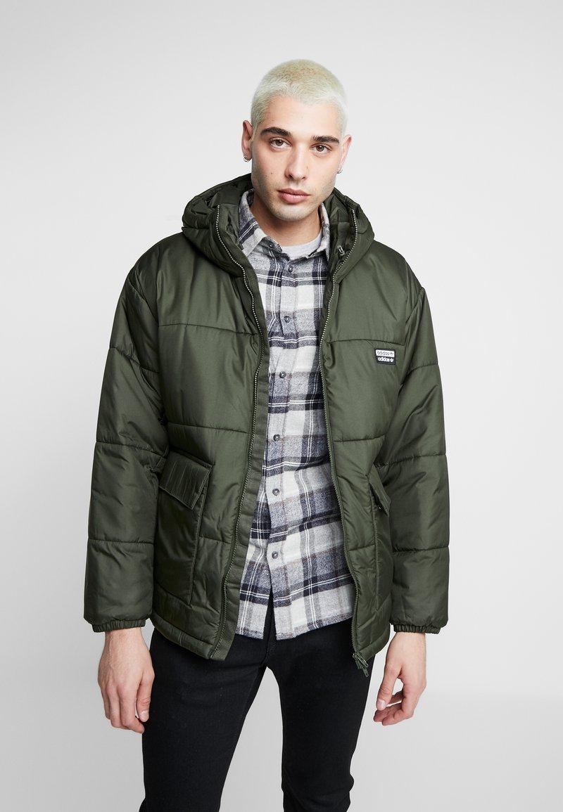 adidas Originals - REVEAL YOUR VOICE JACKET - Winter jacket - night cargo
