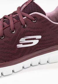 Skechers Sport - GRACEFUL - Tenisky - wine/lavender trim - 2