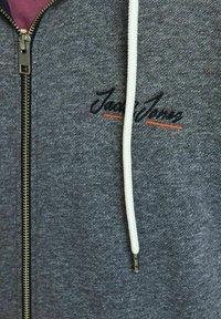 Jack & Jones - Sweater met rits - navy blazer - 5