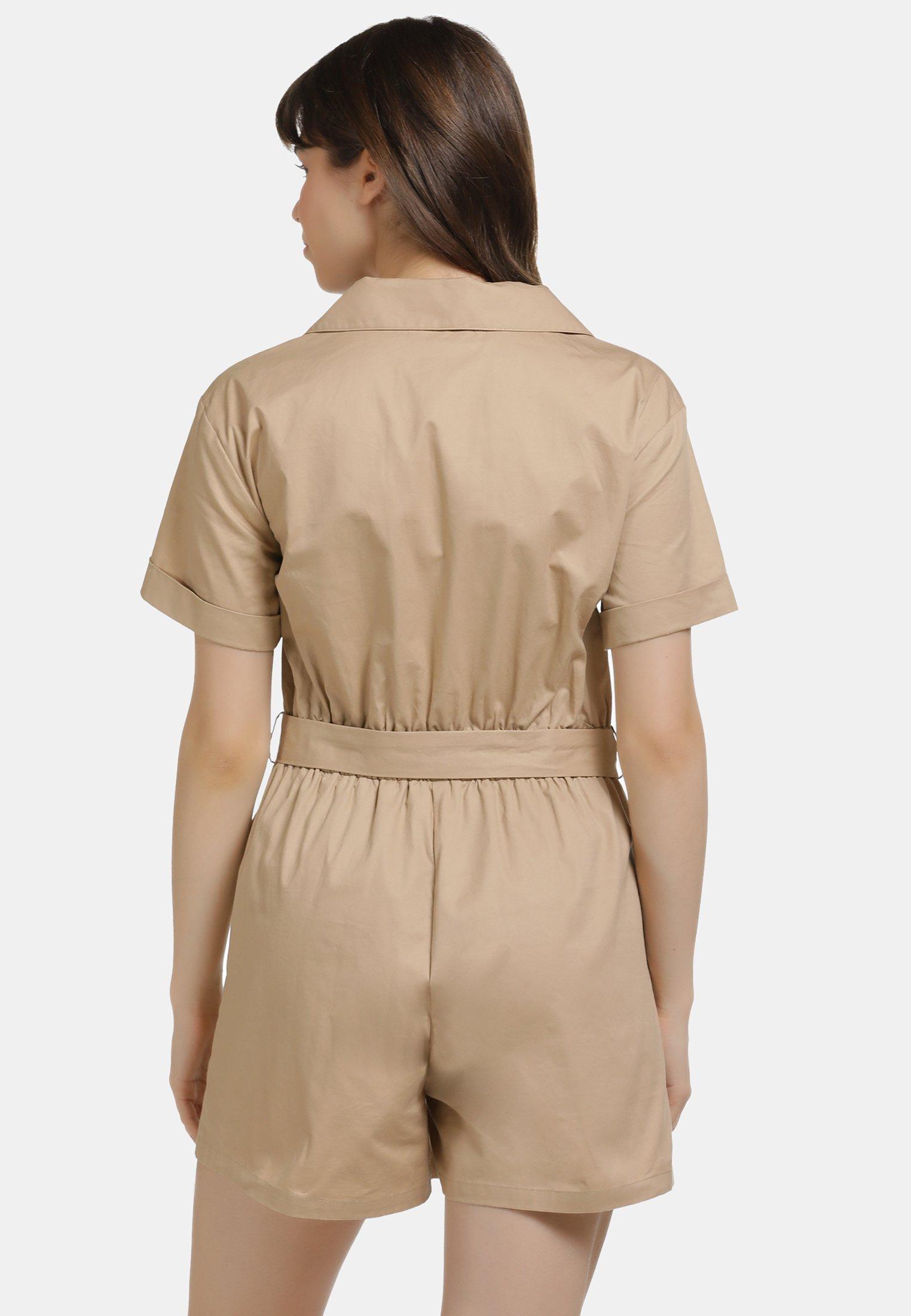 Pre Order Women's Clothing myMo Jumpsuit khaki z66yYBavY