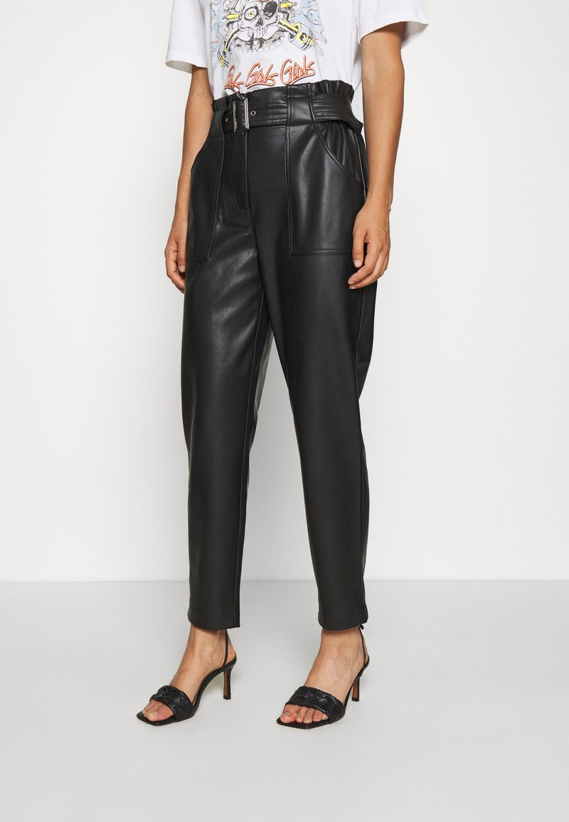 ONLY - ONLBRIONY DIONNE PANT - Trousers - black