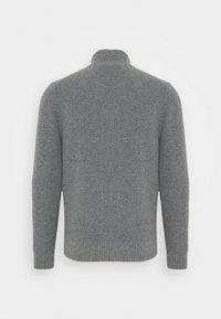 Lyle & Scott - ZIP THROUGH CARDIGAN - Cardigan - mid grey marl - 1