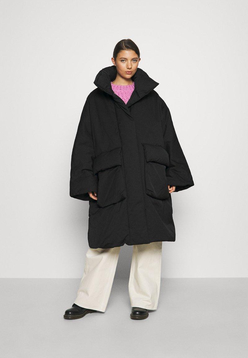 Diesel - W-THEA - Winter coat - black