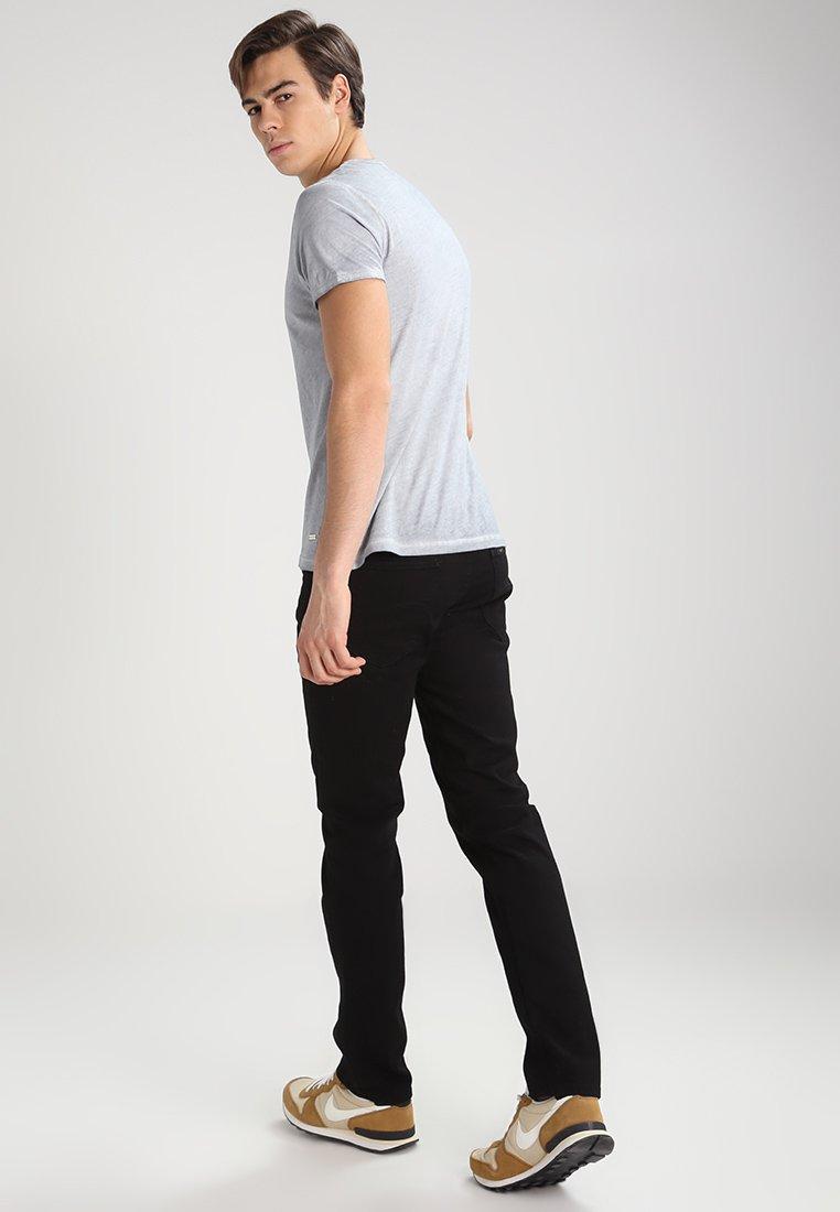 Lee Daren - Jeans Straight Leg Clean Black/svart Denim