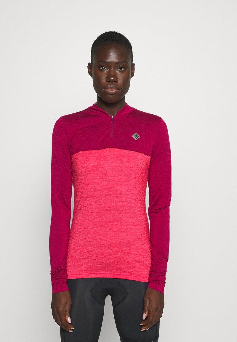 Triple2 - SWET NUL WOMEN - Wielershirt - beet red