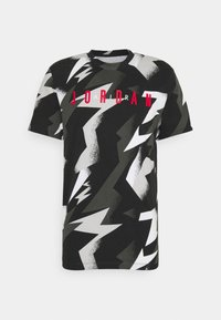 Jordan - JUMPMAN AIR CREW - T-shirt con stampa - black/white - 0