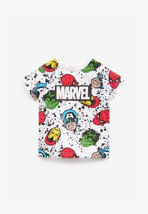 MARVEL - Print T-shirt - white
