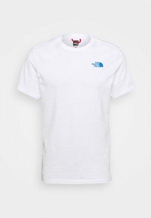 REDBOX TEE - Print T-shirt - white/hero blue
