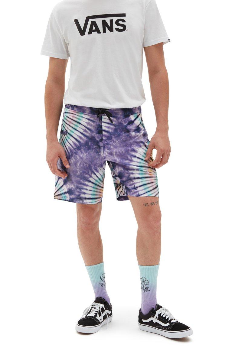 Vans - MN NEW AGE BOARDSHORT - Shorts - new age purple tie dye