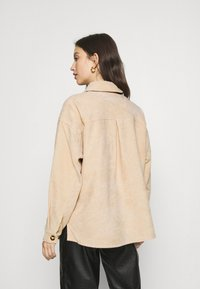 Moves - SAVISA - Button-down blouse - sahara - 2