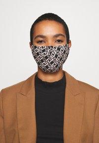 LIU JO - KIT MASCHERINA 2 PACK - Maschera in tessuto - black/beige - 2