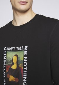 Mister Tee - CAN'T TELL ME NOTHING TEE - Mikina - black - 5