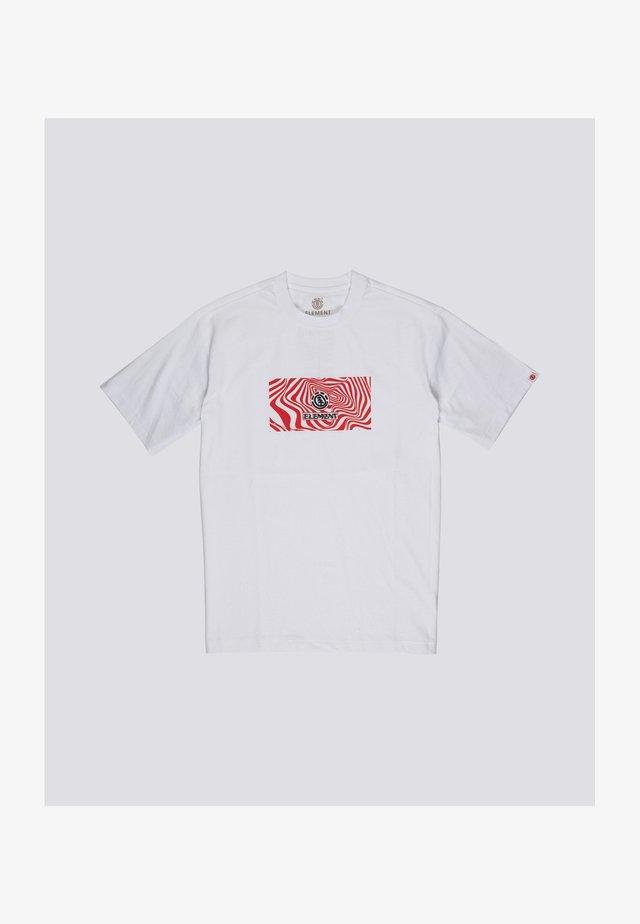 Vogel  - T-shirt print - optic white