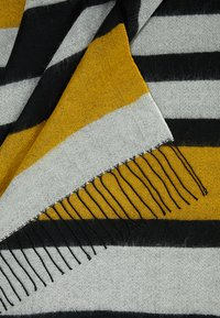 KIOMI - Scarf - white/black/yellow - 2